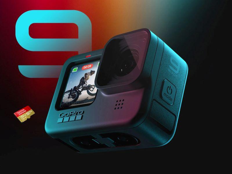 GoPro Hero9 Black llega con nueva pantalla frontal, sensor 5k, objetivo intercambiable y batería más duradera