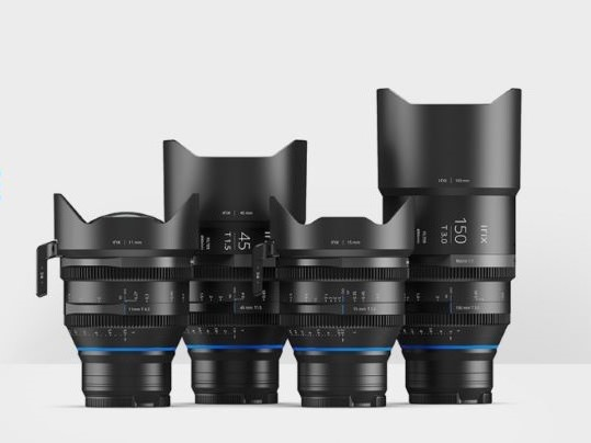 Los objetivos Irix Cine ya están disponibles para Monturas sin espejo Canon RF, Nikon Z y Leica L