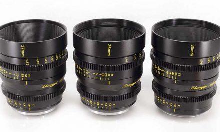 Llegan 3 nuevos objetivos de cine Mitakon Speedmaster muy baratos y luminosos: 17mm, 25mm y 35mm T1,0